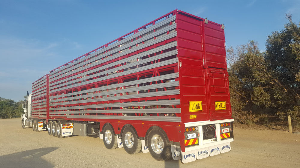 Arends Trailers 4 x 2 CONVERTIBLE