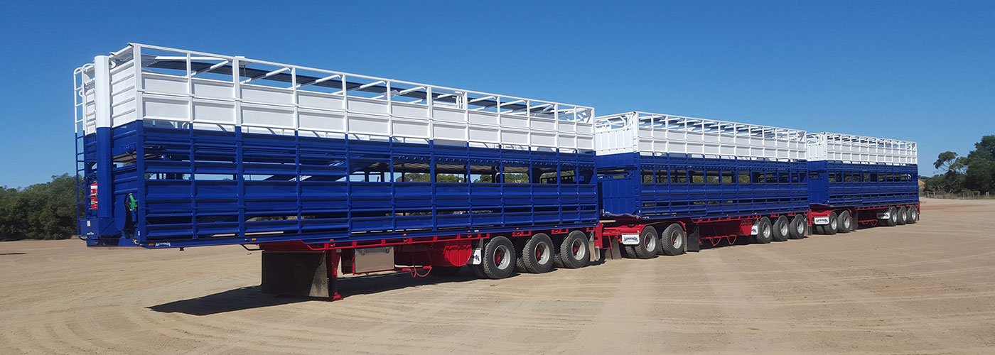 TRIPLE CATTLE ROAD TRAIN